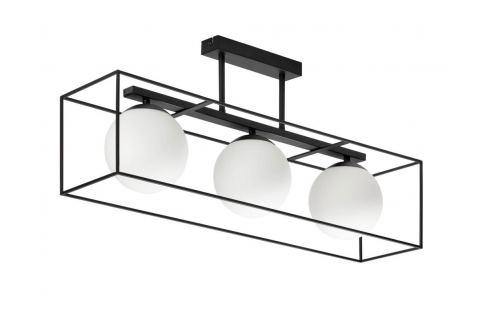 Černé kovové závěsné světlo LaForma Tachi 75 cm Závěsná svítidla