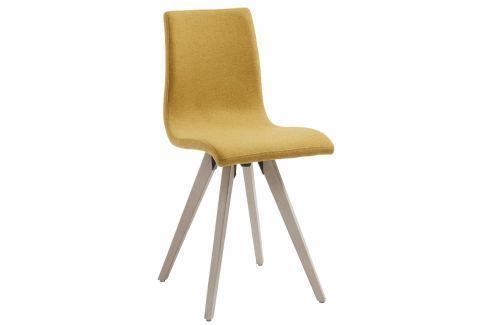 Židle LaForma Una, hořčicová CC0288J81 La Forma Jídelní židle