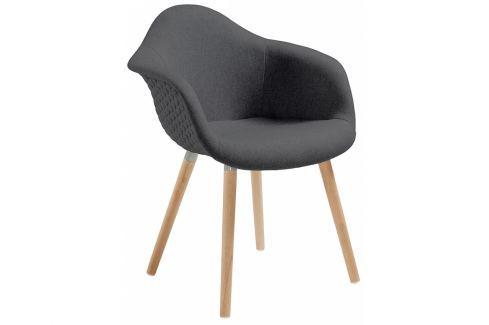 Židle LaForma Kenna, tmavě šedá C631JQ15 La Forma Jídelní židle