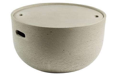 Konferenční stolek LaForma Rhette, šedá CC0506RF03 La Forma Konferenční stolky