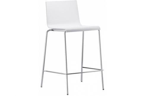 Barová židle Kuadra 1112 Pedrali, bílá | -30 % SKuadra 1112 Pedrali + Barové židle