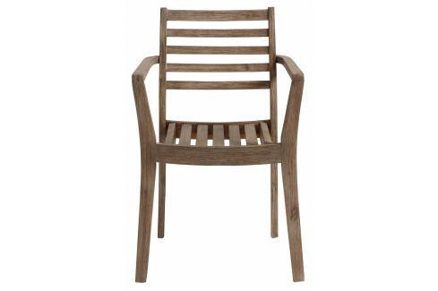 Zahradní židle LaForma Berkeley, akácie, hnědá C873M43 La Forma Pokoj a jídelna - Jídelní židle