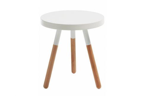 Odkládací stolek LaForma Brick, ø48, dřevo C608M05 La Forma Konferenční stolky