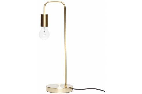 Stolní lampa Hübsch ø 18 cm, mosaz 890414 Hübsch Stolní lampy