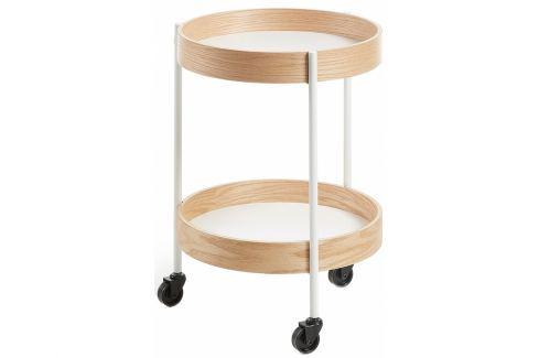 Odkládací stolek ALBAN ⌀40, bílá CC0300M05 La Forma Odkládací stoly