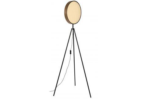 Přírodní ratanová stojací lampa ZUIVER SIEN 141 cm Stojací lampy