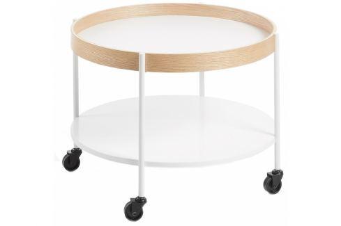 Odkládací stolek LaForma Alban ⌀60, bílá CC0301M05 La Forma Odkládací stoly