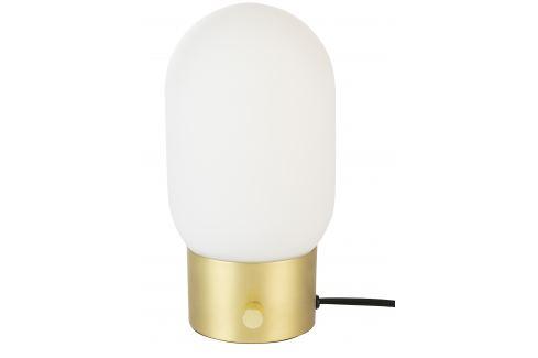 Bílo zlatá skleněná stolní lampa ZUIVER URBAN Stolní lampy