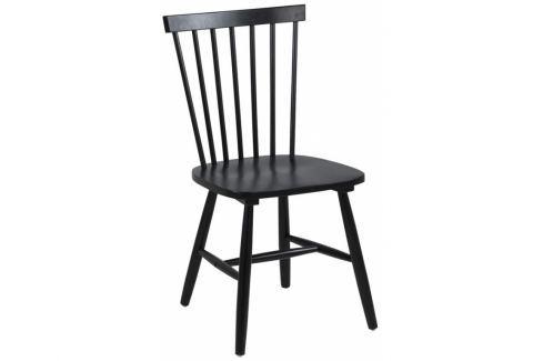 Jídelní židle Ringo, černá SCHDN0000063661 SCANDI Pokoj a jídelna - Jídelní židle