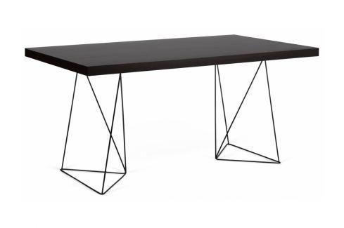 Kancelářský stůl Antonio 180 cm, černá 9500.613838 Porto Deco Kancelářský nábytek