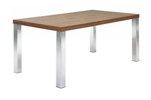 Kancelářský stůl Antonio III. 180 cm, chrom/ořech 9500.611391 Porto Deco Kancelářský nábytek