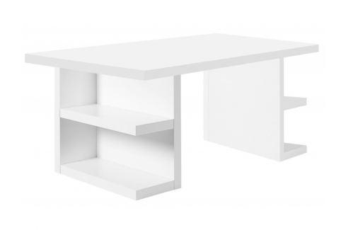 Kancelářský stůl Antonio II. 160 cm, matná bílá 9500.612305 Porto Deco Kancelářský nábytek