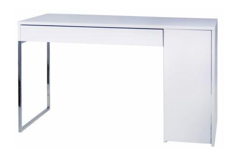 Kancelářský stůl Zorion, bílá/chrom 9500.052514 Porto Deco Kancelářský nábytek