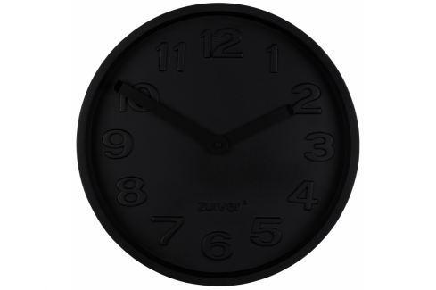 Nástěnné hodiny ZUIVER CONCRETE TIME, černá 8500056 Zuiver Nástěnné