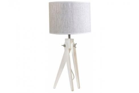 Stolní lampa LF 16, bílá podnož (Šedá)  LF16_BP Lifelight Stolní lampy