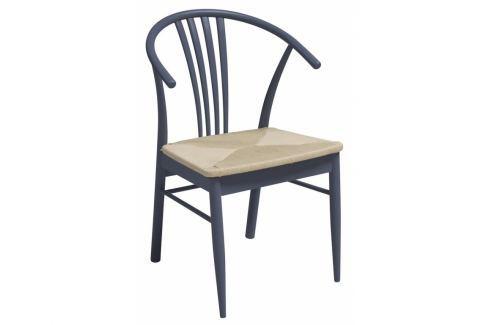 Jídelní židle Maret, modrá SCHDN22085-34 SCANDI Pokoj a jídelna - Jídelní židle