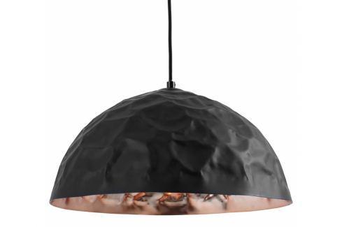 Závěsné světlo Deacon 40 cm, kov, měděná/černá Nordic:86120 Nordic Závěsná svítidla