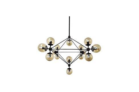 Závěsné světlo Ball 15, transparentní kouřová kh:2169 Culty Gold Závěsná svítidla