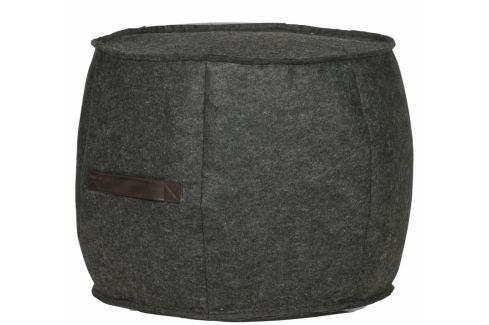 Culty Kancelářská židle Milneo, látka, černá/šedá Sedací míče a vaky