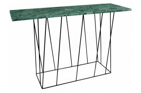 Toaletní stolek Rofus, černá podnož, zelený mramor 9500.627484 Porto Deco Toaletní stolky