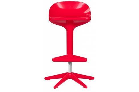 Barová židle Curling, červená kh:1101 Culty Gold Barové židle