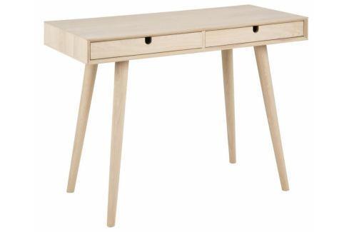Pracovní stůl Celia, dýha, dub SCHDN0000064588 SCANDI Kancelářský nábytek
