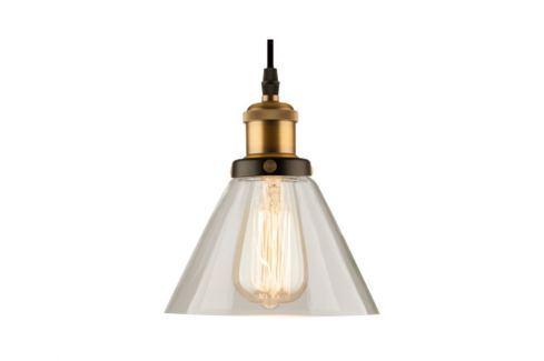 Závěsné světlo Soul 23 cm, transparentní 83846 CULTY Závěsná svítidla