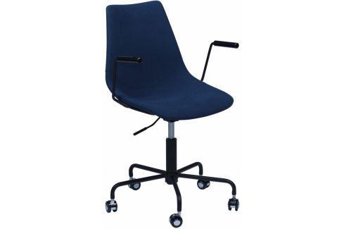 Kancelářská židle DanForm Pitch, tmavě modrá látka DF700770600 DAN FORM Látkové