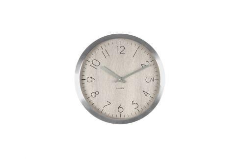 Nástěnné hodiny Charles, 60 cm, světlé dřevo tfh-KA5608WH Time for home Nástěnné