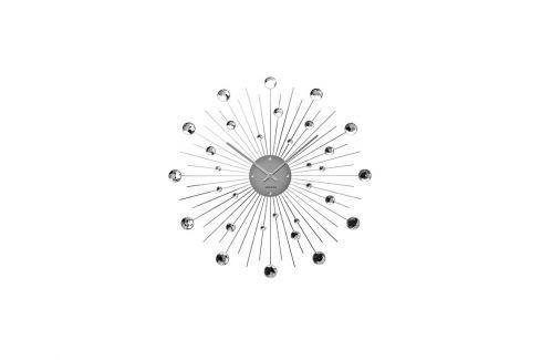 Nástěnné hodiny Espirio 50 cm, stříbrná Stfh-KA4859 Time for home+ Nástěnné