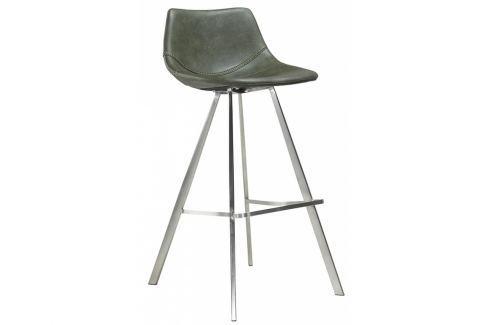 Culty Šedé vlněné křeslo Egg s podnožkou Barové židle