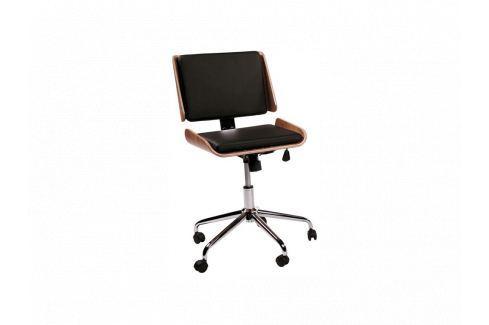 Kancelářská židle DanForm Retro DF300439100 DAN FORM Kožené