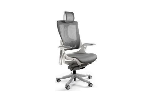 Designová kancelářská židle Master E03 (Modrá)  UN:813 Office360 Ergonomické