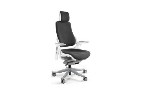 Designová kancelářská židle Master A02 (Bordová)  UN:881 Office360 Látkové