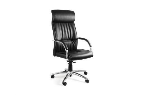 Kancelářská židle BL-60, pravá kůže UN:827 Office360 Kožené