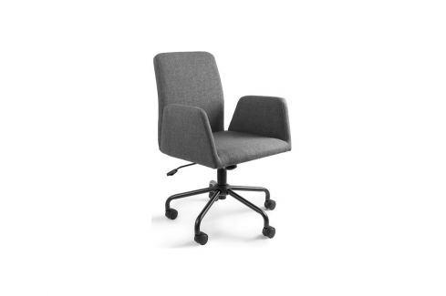 Konferenční židle Bela na kolečkách, šedá UN:780 Office360 Konferenční židle