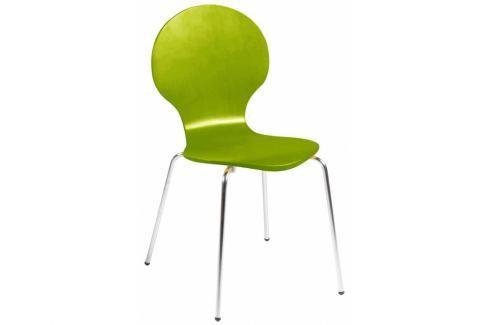 Jídelní židle Line, zelená | -40 % SCHDNH000007184S SCANDI+ Pokoj a jídelna - Jídelní židle
