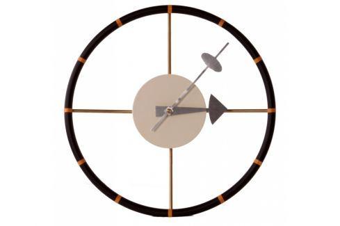 Nástěnné hodiny Drive 30 cm, hnědá 5186 CULTY Nástěnné