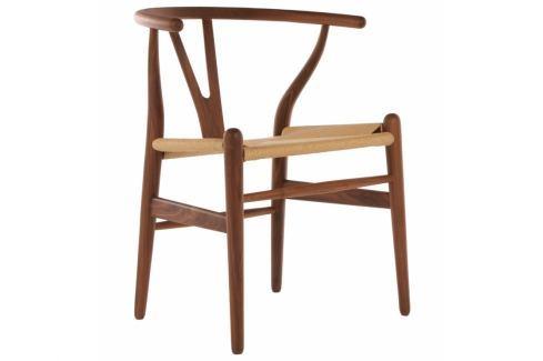 Dřevěná židle Bounce, ořech 12783 CULTY Pokoj a jídelna - Jídelní židle