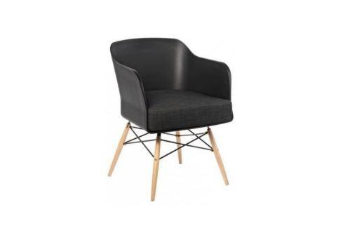 Culty Designová černá kovová židle One Chair Jídelní židle
