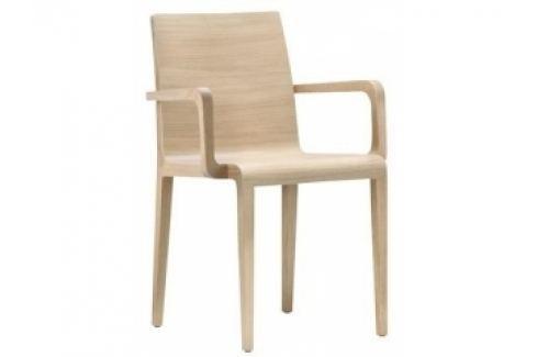 Elegantní dřevěná židle Young 425 (Bělený dub)  Young 425 Pedrali Pokoj a jídelna - Jídelní židle