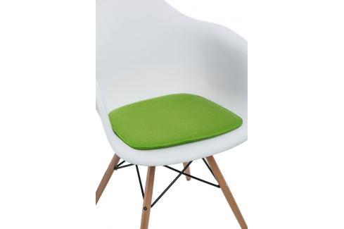 Culty Zelený podsedák 40x39 cm Skladovky