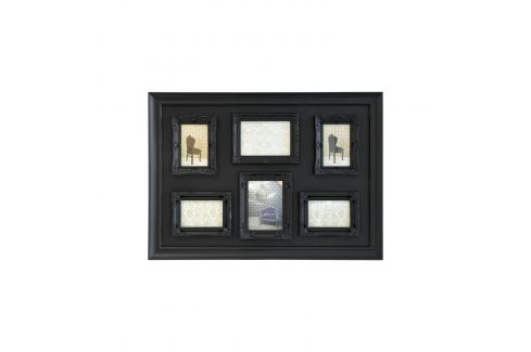 Rámečky sestava černá Ložnice - Bytové doplňky