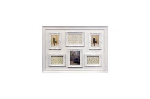 Rámečky sestava bílá Ložnice - Bytové doplňky