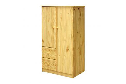 Prádelník 2 dveře + 2 zásuvky Úložné prostory - Komody