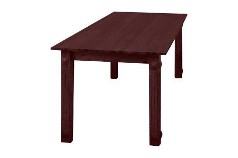 Jídelní stůl hnědý Pokoj a jídelna - Stoly a stolky - Jídelní stoly