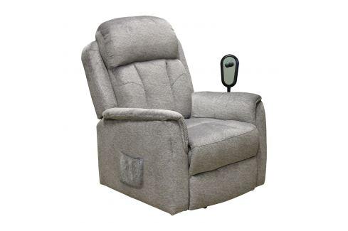 Relaxační křeslo COMFORT šedé Pokoj a jídelna - Relaxační křesla