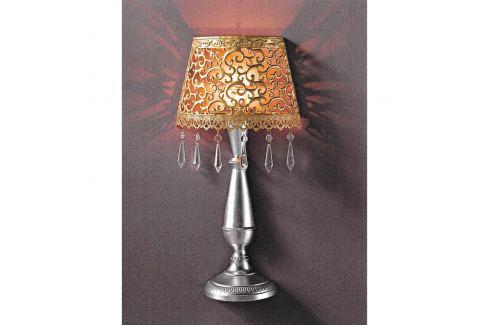 Nástěnná dekorativní kovová lampa zlatá/stříbrná Ložnice - Bytové doplňky