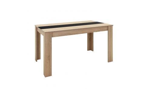 Jídelní stůl NIKOLAS dub Pokoj a jídelna - Stoly a stolky - Jídelní stoly