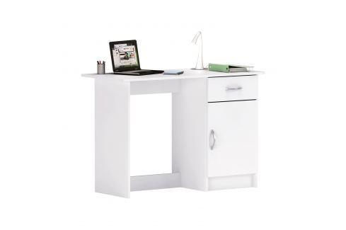 Psací stůl OSIRIS bílý Pracovna - Psací a PC stoly